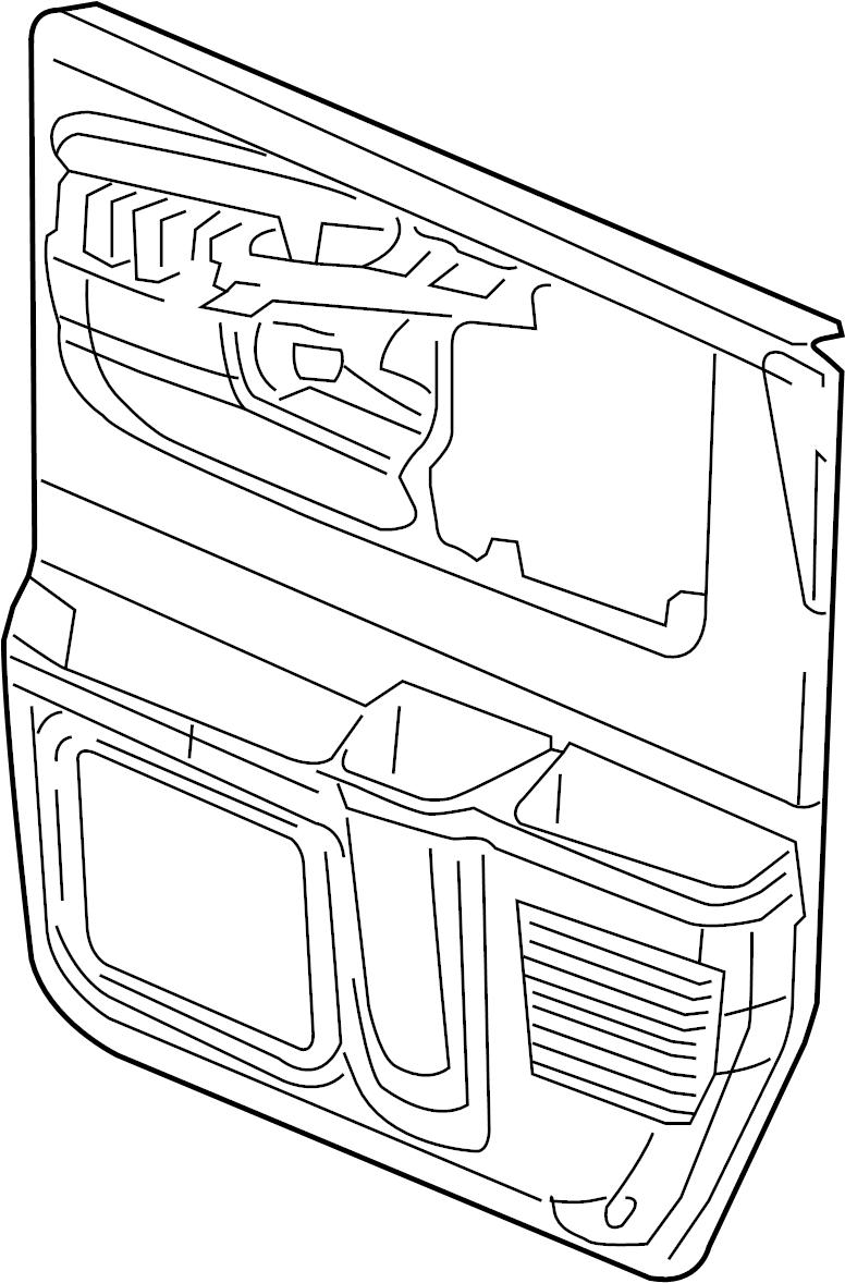 gmc savana 2500 door trim panel  panel  neutral  chevrolet