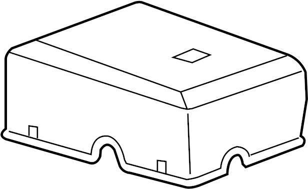 gmc sierra 1500 cover  fuse  box   upper    engine
