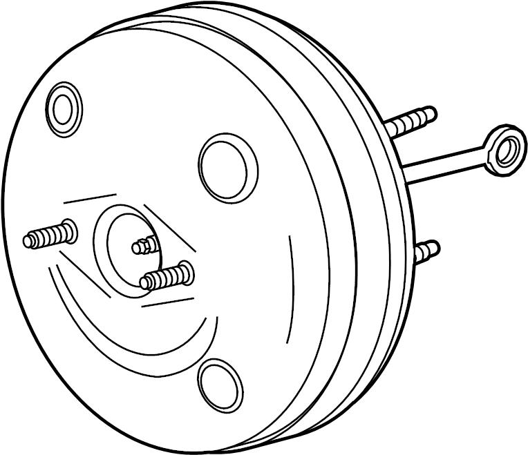 chevrolet silverado 1500 booster assembly  power brake