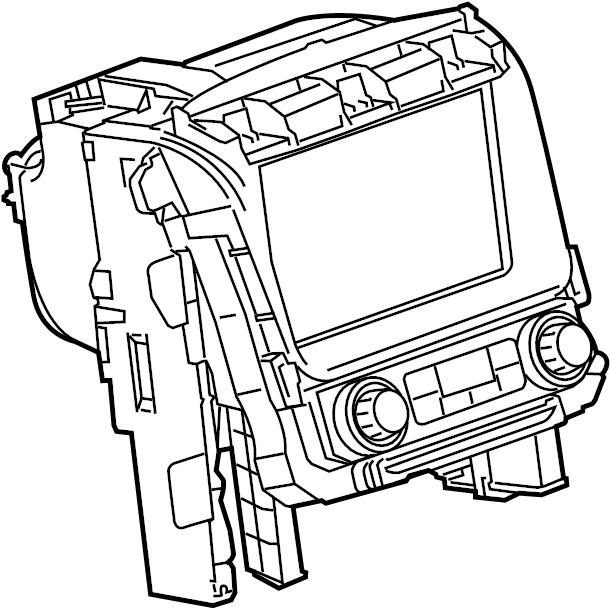 2015 chevrolet tahoe control  radio  module  unit  mobile