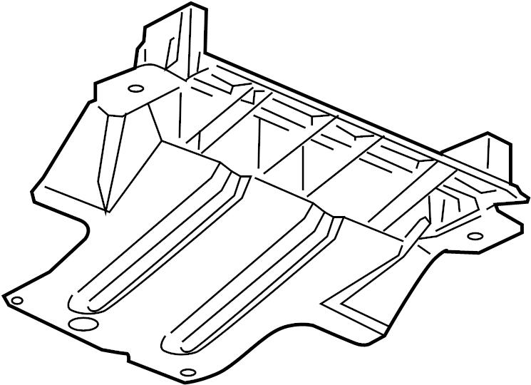 2005 chevrolet colorado shield  skid plate  chevrolet  gmc