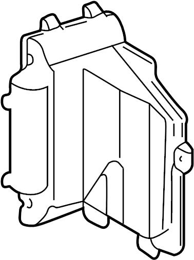 Chevrolet S10 Hvac Unit Case  Outlet