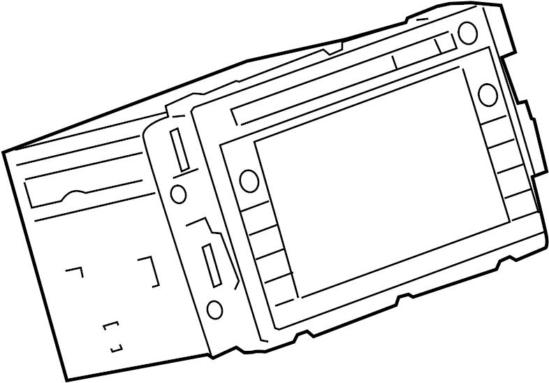 gmc savana 2500 radio  system  disc  instrument