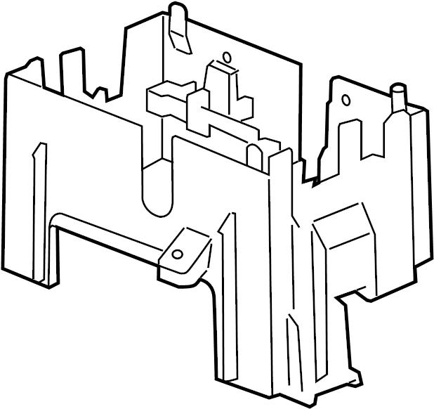 gmc sierra 2500 hd fuse box bracket  junction block