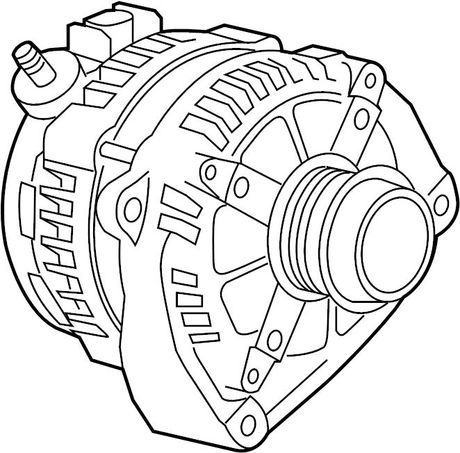 gmc yukon generator  chevrolet  gmc  motors  general