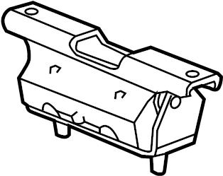 Engine Cradle Bolt Front