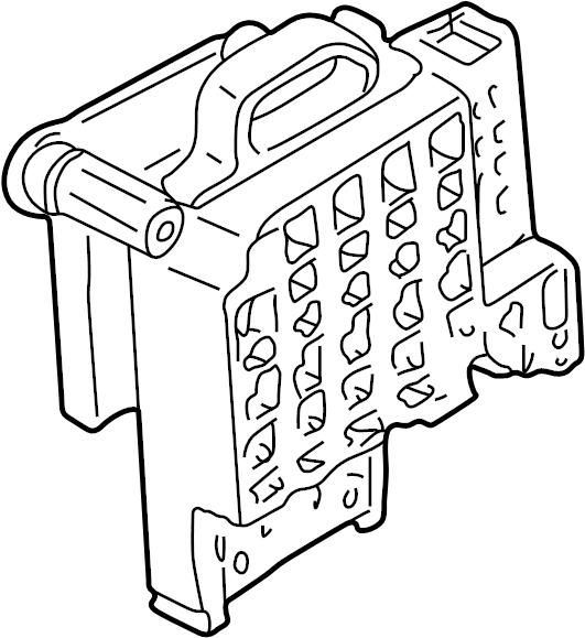 Gmc K1500 Suburban Fuse Box  1995