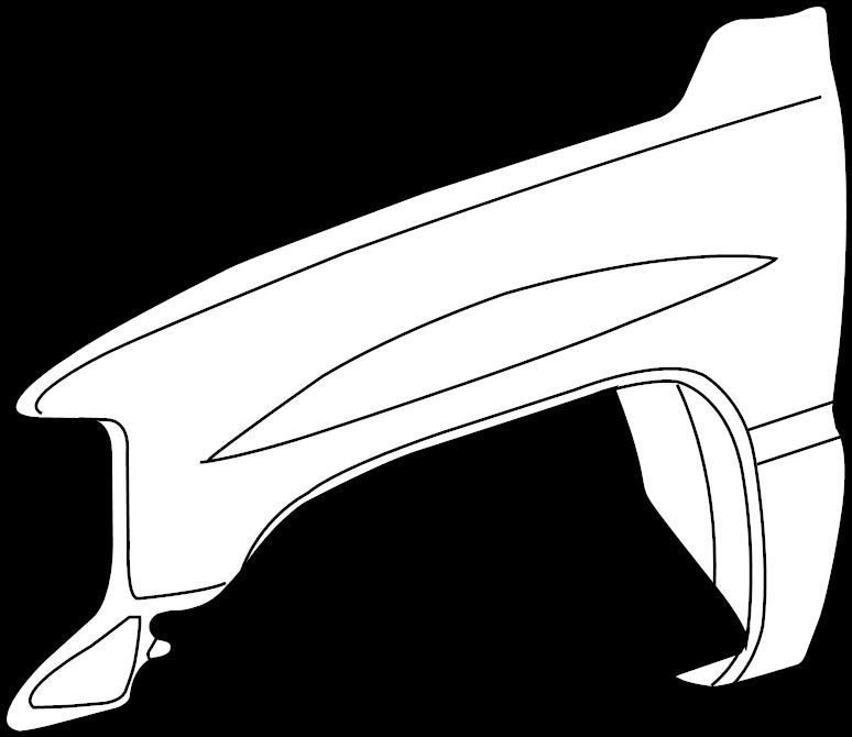 2001 chevrolet silverado 2500 hd fender assembly