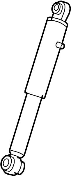 2009 chevrolet suburban 1500 ltz 5 3l flex 4wd absorber  shock  shock absorber  cadillac