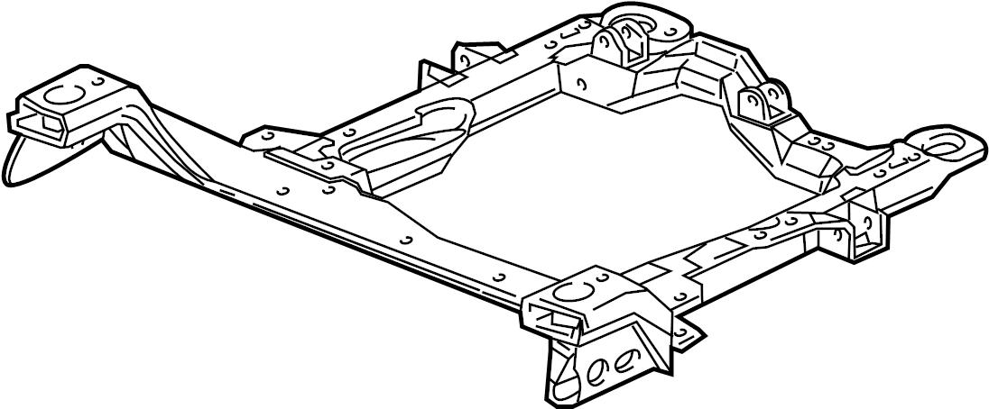 pontiac montana sv6 engine cradle frame frame asm. Black Bedroom Furniture Sets. Home Design Ideas