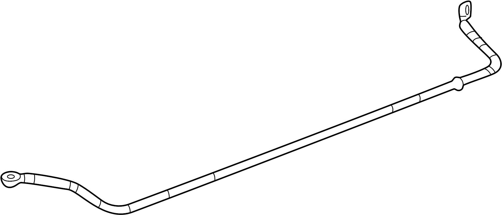 10412916 Pontiac Stabilizer Shaft Bar Rear Rr