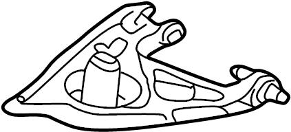 Buick Terraza Rear Suspension