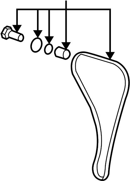 2010 Chevrolet Malibu Lt 2 4l Ecotec Flex Chain  Chain Asm