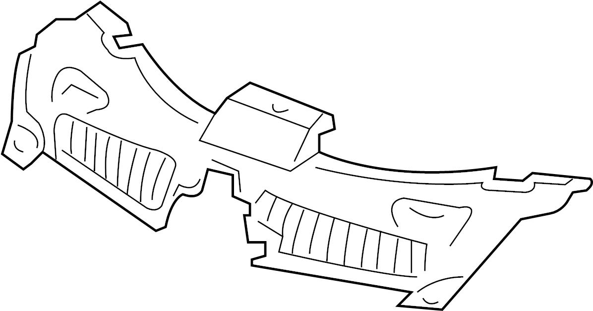 saturn vue cover  cover-rad opg upr  sight shield  xe  u0026 xr  chevrolet  saturn