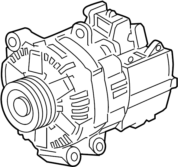 24242950 - general motors alternator  generator assembly   strtr   components are not
