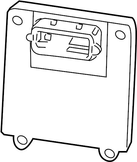 2011 gmc sierra 1500 control module  ecm  module  module asm  trans cont  trans controller